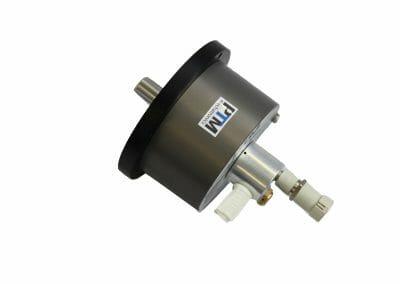ATEX Rührwerksmotor mit Montageflansch Seite