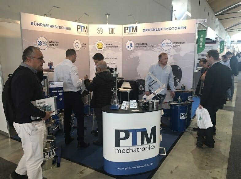 PTM mechatronics auf der PaintExpo 2018