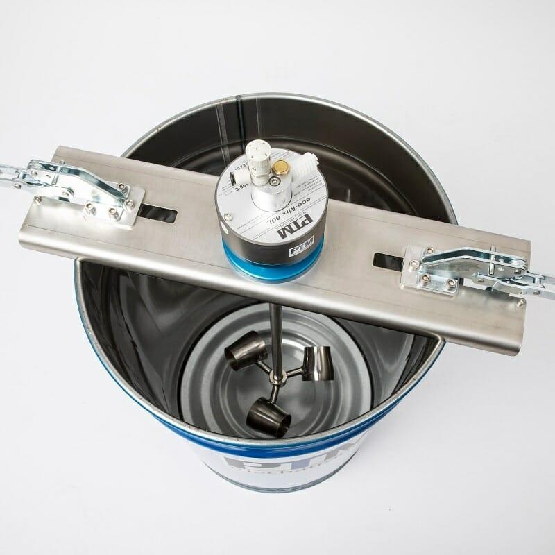 Effizientes Komplettrührwerk eco-Topmix mit Zonentrennflansch für Zonentrennung 0/1.