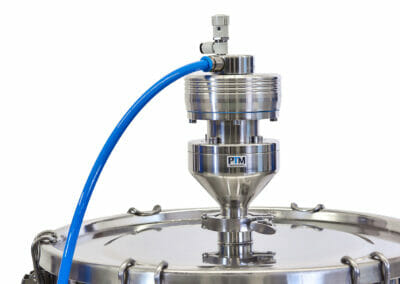 ATEX stainless-steel agitator with Tri Clamp connection
