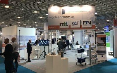 PTM bringt auf der Messe Cleanzone Bewegung in den Reinraum