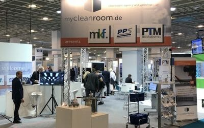 PTM brings movement into the cleanroom, at the Cleanzone trade fair