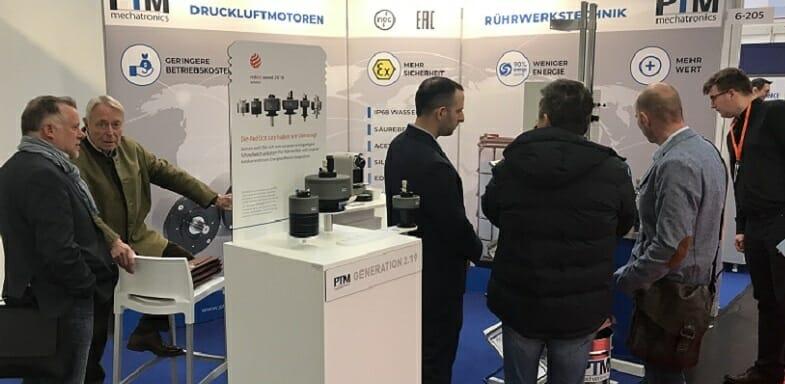 PTM setzt neue Standards auf der European Coatings Show 2019 in Nürnberg