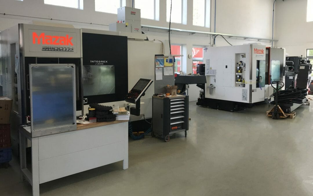 Increased production capacity with new machine tool center