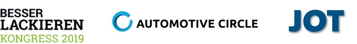PTM auf dem JOT Lackiertreff, dem Automotive Circle und dem Besser Lackieren Kongress