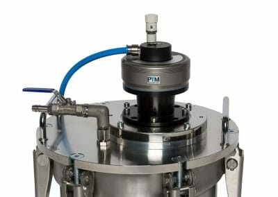 ATEX Rührwerksantrieb, Rührwerk auf Deckel aus Edelstahl für Überdruck und Unterdruck