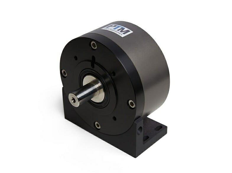 Druckluftmotor mit Montagewinkel