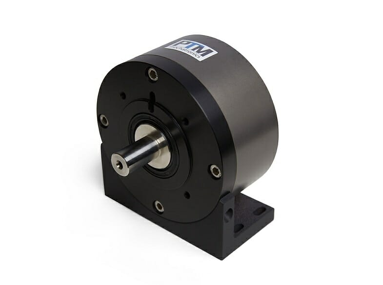 Mountingangle for compressed air motor