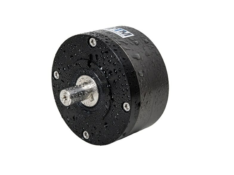 Leistungsstarker wasserdichter Druckluftmotor IP68 für den Betrieb auch Unterwasser geeignet.