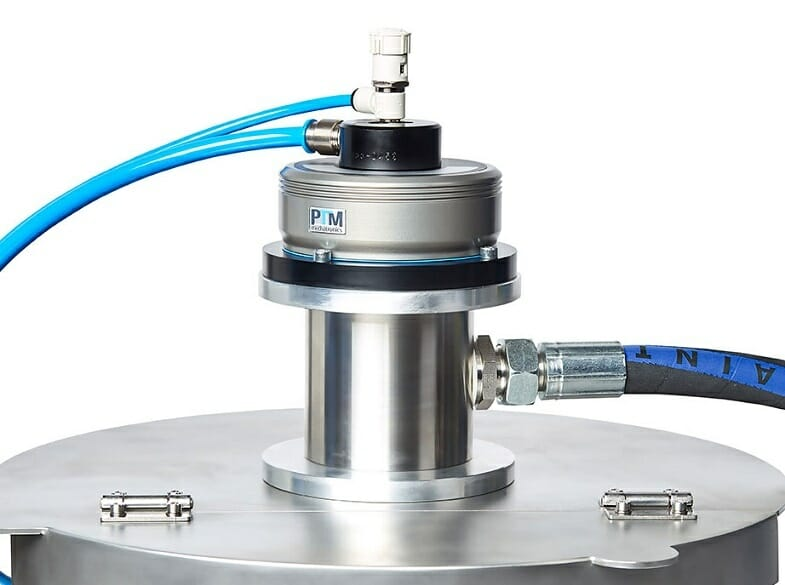ATEX Rührwerk mit integrierter Sauglanze-1