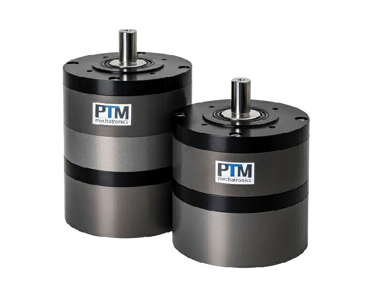 Powerful compressed air motor with transmissios for specific torque demandsn