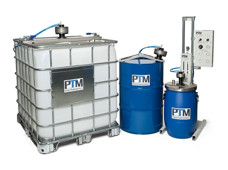 ATEX agitators for drum, IBC containers and stand agitators