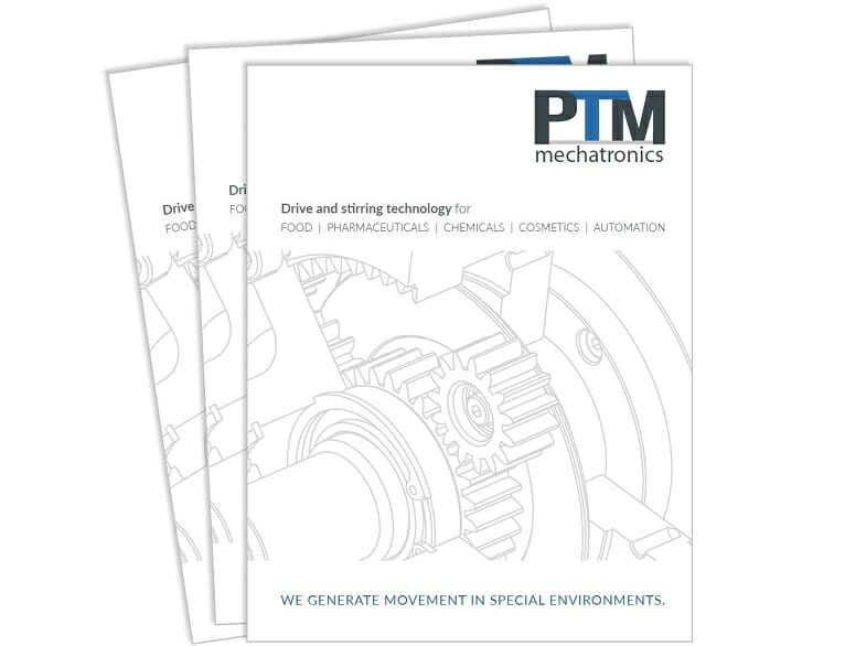 PTM Drive and stirring technology Brochure