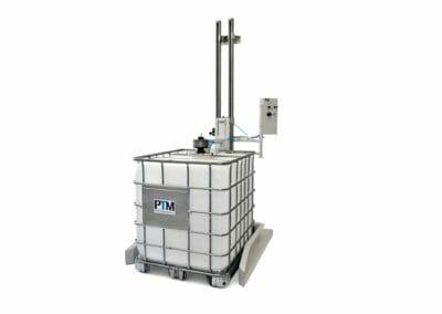 IBC Stativrührwerk mit Containerrührwerk und Hubstation, ATEX-zertifiziert