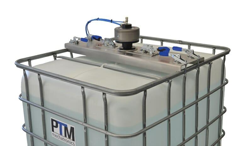 PTM Containerrührwerk mit aufsteckbarer Edelstahltraverse short