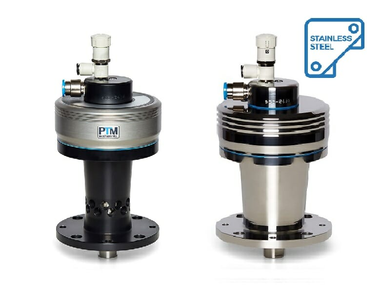 ATEX agitators in aluminium and stainless steel with integrated seal for overpressure and underpressure