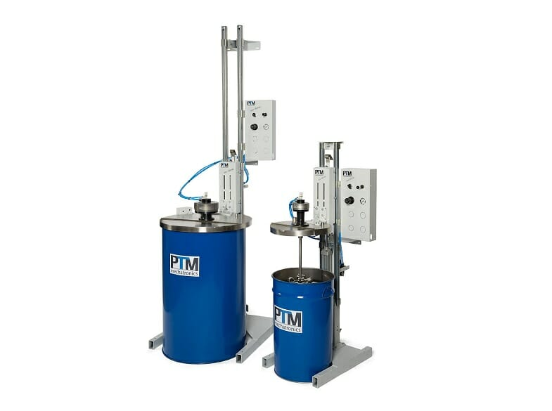 ATEX tripod agitator for various drums and containers
