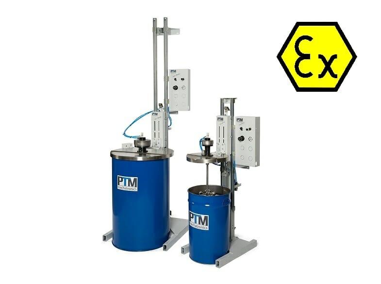 Stativrührwerke ATEX zertifiziert für Fässer