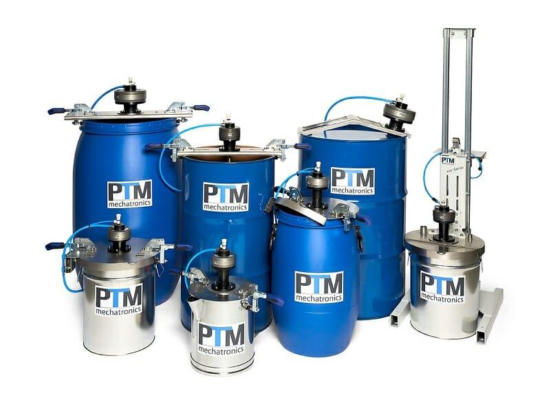 Individuelle Lösungen für Atex Rührwerke flexibel zu befestigen auf diversen Fässern und Behältern