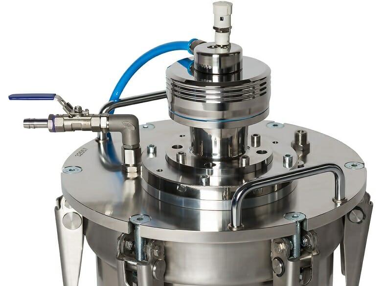 Edelstahl Rührwerk eco-Seal INOX Serie mit ATEX Zertifizierung, IP68 wasserdicht, Reinraumtauglich, Sterilisierbar