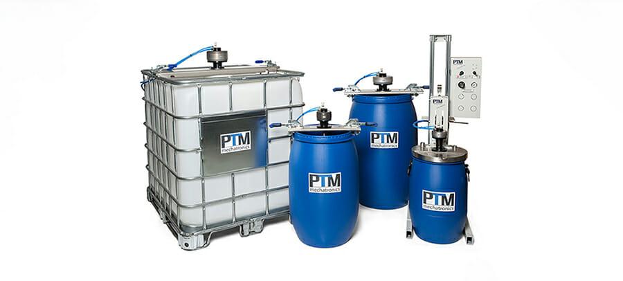 Effiziente und leistungsstarke Containerrührwerke, Fassrührwerke, Stativrührwerke