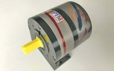 How our compressed air motor becomes a work of art