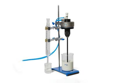 ATEX laboratory agitator with tripod and laboratory equipment